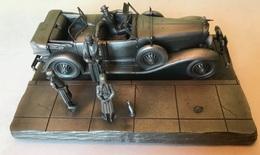 Tin - Etain - Zinn - Franklin Mint Fine Pewter - The 1930 Duesenberg Model J By Raymond Meyer - 1977 - Stagno