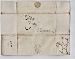 """1785 Letter To """"Mr Holt, Att'y, Rochdale"""" From """"J Taylor, Leigh"""". """"I Hope The Gooseberries Are Ripe In Wales"""".   0833 - Autografi"""