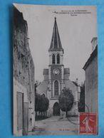 17 :SAINT-GERMAIN De MARENCENNES : L'EGLISE  , C.P.A. , En Bon état - Otros Municipios