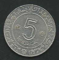 ALGERIE 5 Dinars 1972 - 1962   Pia23706 - Algeria