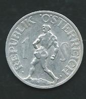 Autriche - 1 Schilling 1946  Pia23711 - Autriche