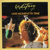 Disque Vinyle 45 Tours : WHITNEY HOUSTON :  ONE MOMENT IN TIME..Scan B  : Voir 2 Scans - Otros