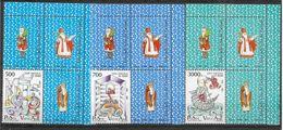 1987 VATICAN 825-27** Saint Nicolas De Myre, Avec Vignettes - Vatican