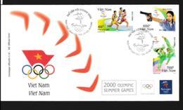 Vietnam FDC 2000 Sydney Olympic Games  (NB**LAR9-148) - Ete 2000: Sydney