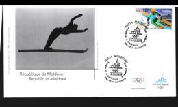 Moldova FDC 2006 Torino Olympic Games  (NB**LAR9-148) - Winter 2006: Torino