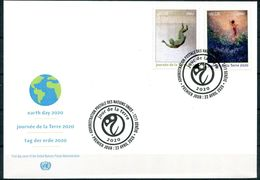 ONU Genève 2020 - Earth Day - Journée De La Terre - Tag Der Erde FDC - Protection De L'environnement & Climat