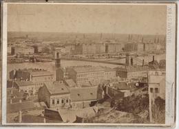 04- BUDAPEST-HONGARIJE-BUDAPESTEN-GROOTE 29CM OP 21 CM FOTO OP HARD KARTON - Ancianas (antes De 1900)