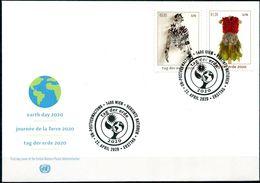 ONU Vienne 2020 - Earth Day - Journée De La Terre - Tag Der Erde FDC - Protection De L'environnement & Climat