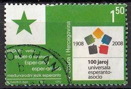 BOSNIA AND HERZEGOVINA 519,used - Esperanto