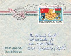 MALAGASY - AIRMAIL 1986 - GOTHA/DDR //ak744 - Madagaskar (1960-...)