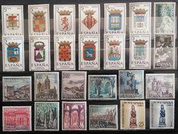 España: Años. Completos, Entre - 1964/1981 ( 623/Val. + 4HB ) Todos Nuevos Excelente Calidad. - Full Years