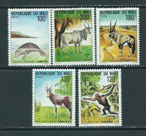 Mali - Correo Yvert 318/22 ** Mnh  Fauna - Mali (1959-...)