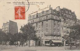PARIS : Angle De La Place D'Italie Et Du Bd Auguste Blanqui. - Arrondissement: 13