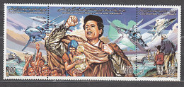 Libia - Correo 1998 Yvert 2141/3 ** Mnh  Khadafi - Libye