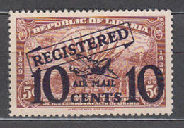 Liberia - Letra De Cambio Yvert 40 * Mh - Liberia
