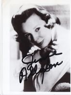 AUTOGRAPHE ORIGINAL ACTRICE ETATS UNIS / JUNE ALLYSON / LES 4 FILLES DU DOCTEUR MARCH 1949 - Autografi