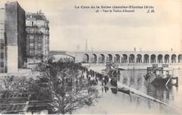 75 - PARIS 16 ° - INONDATIONS De PARIS ( Janvier 1910 ) Vers Le Viaduc D'Auteuil  - CPA - Seine - De Overstroming Van 1910