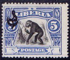 LIBERIA - MONKEY  DINST - *MLH - 1918 - Scimpanzé