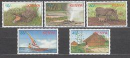 Kenya - Correo Yvert 697/701 ** Mnh - Kenya (1963-...)