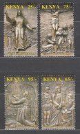 Kenya - Correo Yvert 756/9 ** Mnh  Esculturas Religiosas - Kenya (1963-...)