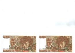 Lot 2 Billets 10 Francs Berlioz  1976  Numéro Qui Se Suive Neuf - 1962-1997 ''Francs''