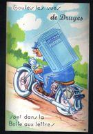89, Druyes, Carte A Systeme, Sans Les Photos ( Confectionnement Interrompu ), Facteur, Boite Aux Lettres Moto - Sonstige Gemeinden