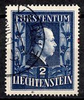 Liechtenstein YT N° 266A Dentelé 15 Oblitéré. B/TB. A Saisir! - Liechtenstein