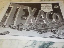 ANCIENNE PUBLICITE GAMME DE PRODUIT  MOTOR OILS  TEXACO   1925 - Transportation
