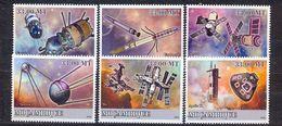 MOZAMBIQUE - MNH - SPACE - MI.NO.3259/63 - CV = 10 € - Space