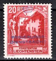 Liechtenstein Timbre De Service YT N° 3 Neuf ** MNH. TB. A Saisir! - Dienstpost
