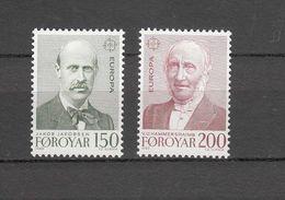1980   N° 47 - 48    NEUFS**      CATALOGUE  YVERT&TELLIER - Faroe Islands