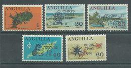 200035996  ANGUILLA  YVERT   Nº  47/51  **/MNH - Anguilla (1968-...)
