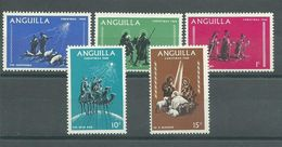 200035999  ANGUILLA  YVERT   Nº  28/32  **/MNH - Anguilla (1968-...)