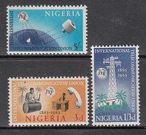 Nigeria - Correo Yvert 171/3 ** Mnh   Telecomunicaciones - Nigeria (1961-...)