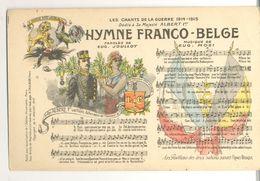 Cpa 1914/18   Hymne   Albert 1er - Histoire