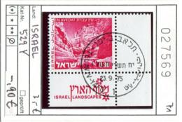 Israel - Michel 529 Y  - Oo Oblit. Used Gebruikt - Usados (con Tab)