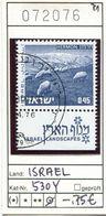 Israel - Michel 530 Y  - Oo Oblit. Used Gebruikt - Usados (con Tab)