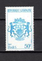 GABON  N° 388   NEUF SANS CHARNIERE COTE  1.50€    ARMOIRIE - Gabón (1960-...)