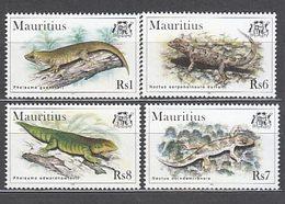 Mauricio - Correo Yvert 893/6 ** Mnh  Fauna - Maurice (1968-...)