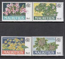Mauricio - Correo Yvert 922/5 ** Mnh  Flores - Maurice (1968-...)