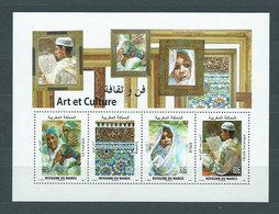 Marruecos Frances - Hojas Yvert 35 ** Mnh  Arte Y Cultura - Maroc (1956-...)
