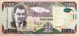 Jamaica 100 Dollars, P-95b (1.6.2016) - UNC - Jamaique