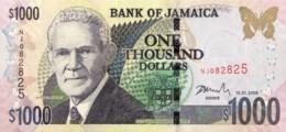 Jamaica 1.000 Dollars, P-86f (15.1.2008) - UNC - Jamaique