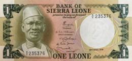 Sierra Leone 1 Leone, P-5a (19.4.1974) - UNC - Sierra Leone