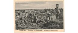 Longwy -Haut   - Vue Totale Après Le Bombardement - Longwy