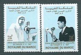 Marruecos Frances - Correo 1997 Yvert 1209/10 ** Mnh  Mohamed V - Maroc (1956-...)