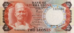 Sierra Leone 2 Leones, P-6a (19.4.1974) - UNC - Sierra Leone