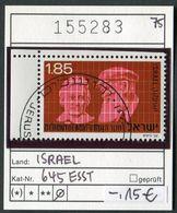 Israel - Michel 645 - Oo Oblit. Used Gebruikt - Israel