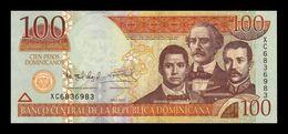 República Dominicana 100 Pesos Dominicanos 2011 Pick 184a SC UNC - Dominicana