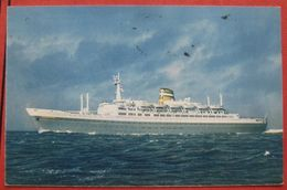 Künstlerkarte SS Statendam - Holland America Line 1963 - Paquebots